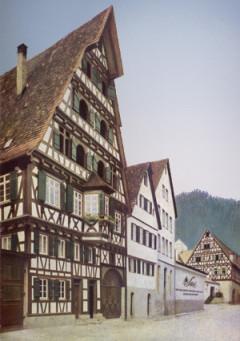Der Firmenstammsitz in der Calwer Lederstraße