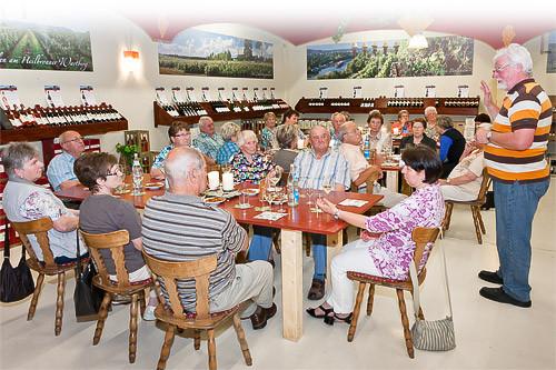 Kellereiverkauf Weinprobe